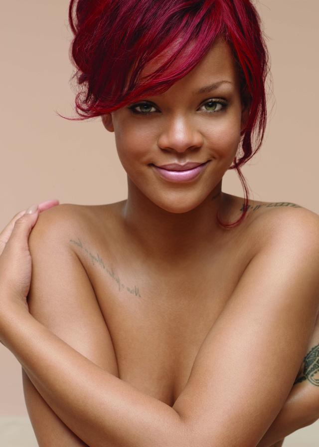 117701 12991653072 Rihanna Strips Down For Nivea