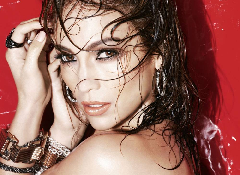 J. Lo Gets Soaked for LOreals New Collection