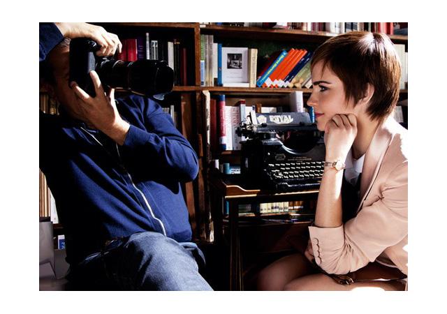 126518 13052907932 Emma Watson Talks About Lancome, Fashion & Growing Her Hair