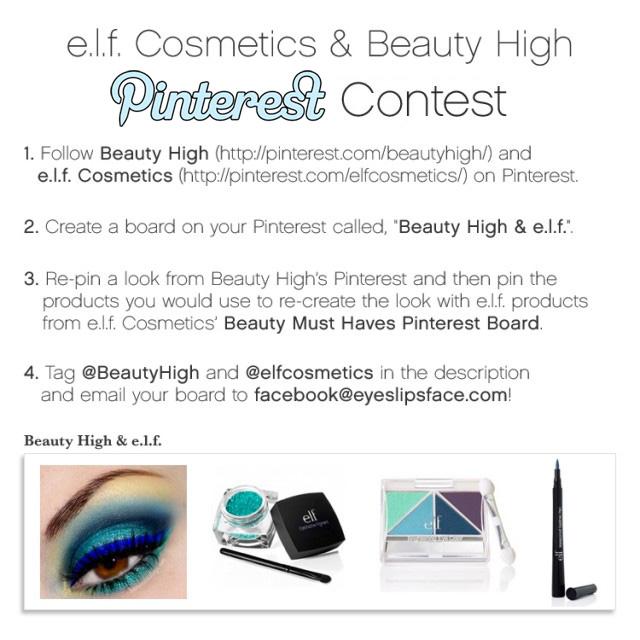 elf beautyhigh contest 11 Beauty PINspirations: e.l.f. and Beauty High Pinterest Giveaway