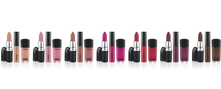 fashionsets1 MAC Cosmetics Creates A Fashion Set For Your Lips And Tips