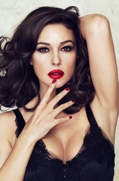 monica1 Monica Bellucci Names Her Entire Dolce & Gabbana Lipstick Collaboration After Herself