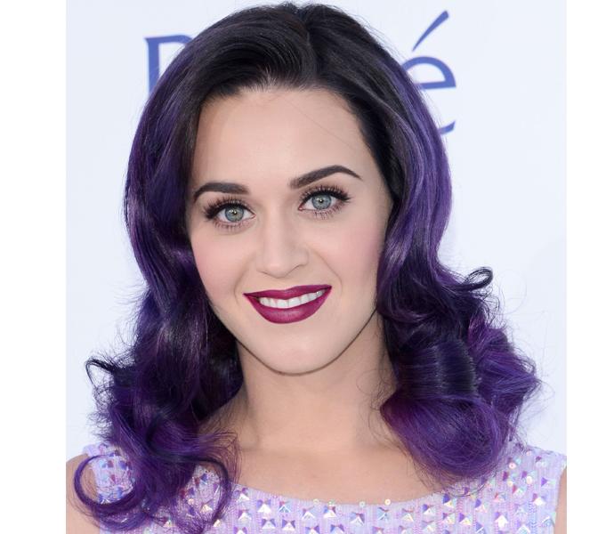 katy perry berry lip1 Get Katy Perrys Billboard Music Awards Berry Lip