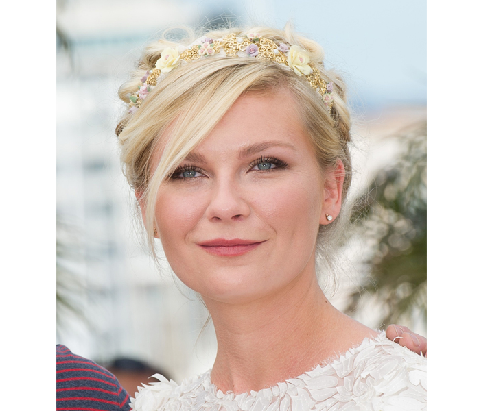 kirsten dunst1 Get Kirsten Dunsts Whimsical Beauty Look