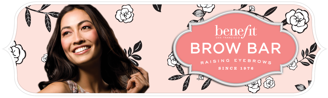browbars lp pagebanner1 Benefit Brow Bar: Perfecting Brows, One Stray Hair at a Time