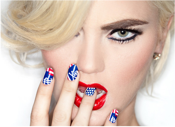 ncla Patriotic Fingers: 4th of July Nail Art Ideas Plus a Giveaway!