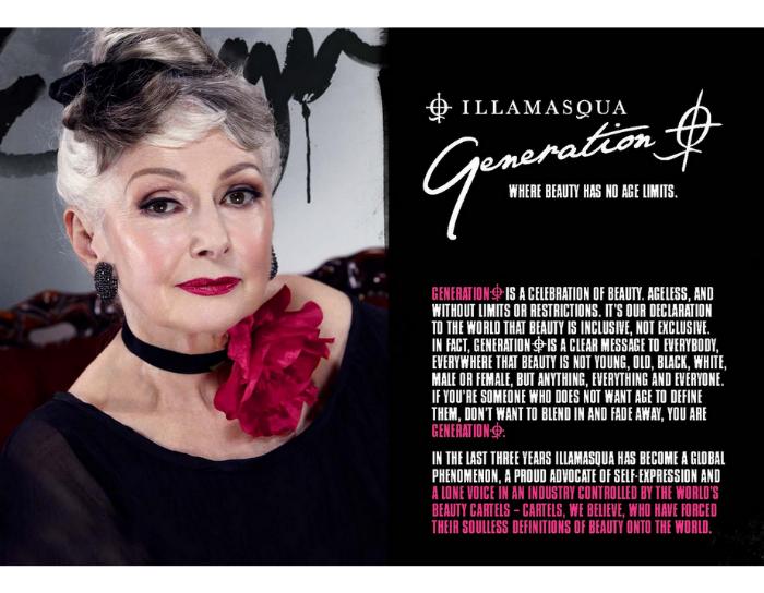screen shot 2012 08 23 at 10 59 46 am Illamasquas Latest Ad Campaign Gets Behind Beauty At Any Age