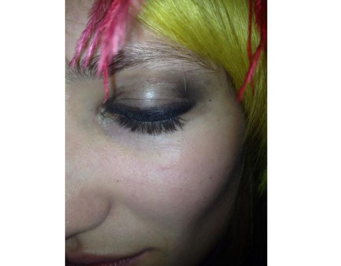 eyeballs Evolution of a Fashion Show Look: MACs Creation for Libertine