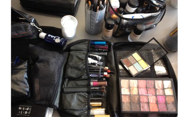 ovitz6 Evolution of a Fashion Show Look: MACs Creation for Kimberly Ovitz