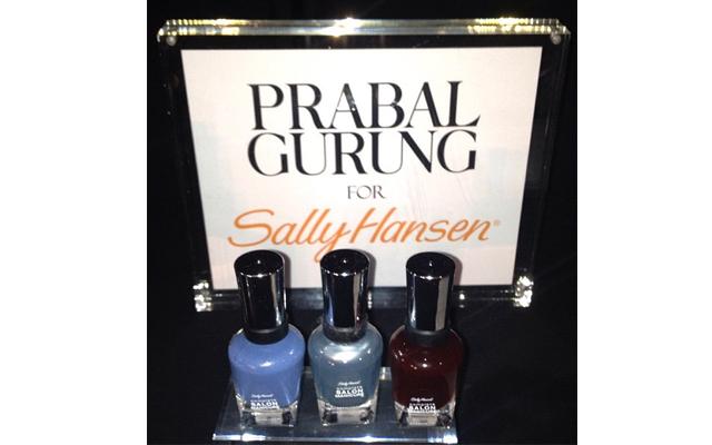 prabal gurung Sally Hansen Creates 3 Limited Edition Polishes with Prabal Gurung