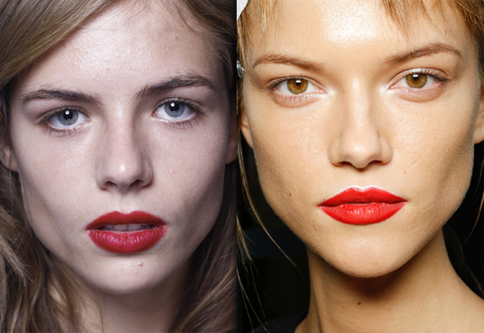 red lips Matte Red Lips Are Here to Stay: How to Get the Look