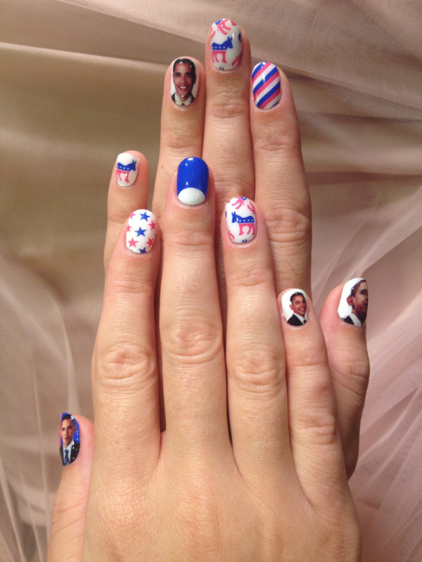 Beauty Highs Daily Top 10: Katy Perrys Obama Nails, Britney Spears New Fragrance, More