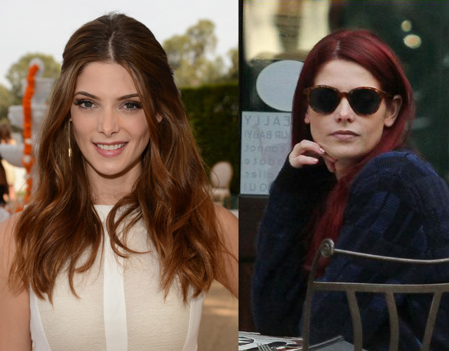 ashley greene Ashley Greene Dyed Her Hair a Fiery Red