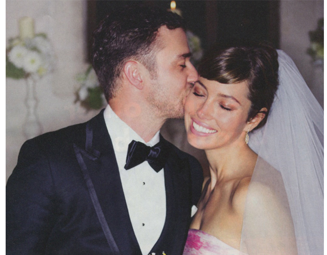 biel timberlake wedding First Look: Jessica Biels Wedding Day Beauty Look