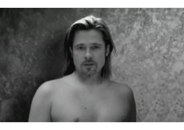 brad pitt conan Beauty Highs Daily Top 10: Chanel No.5 Ad Campaign Spoof, Flu Proof Your Makeup Bag, More