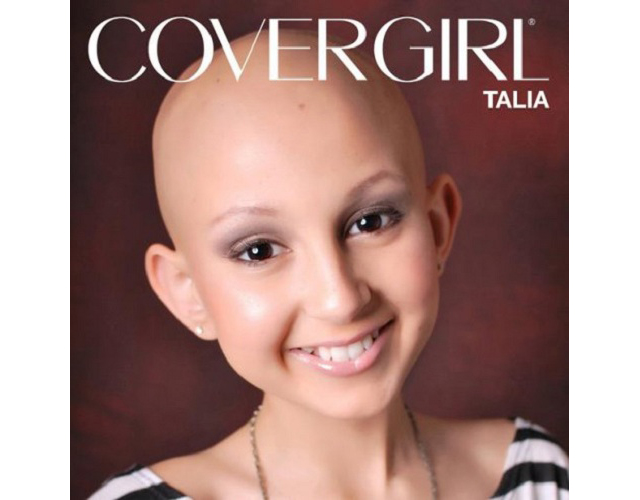 covergirl talia Beauty Highs Daily Top 10: Teen Cancer Patient Named CoverGirl, One Direction to Launch Scent, More