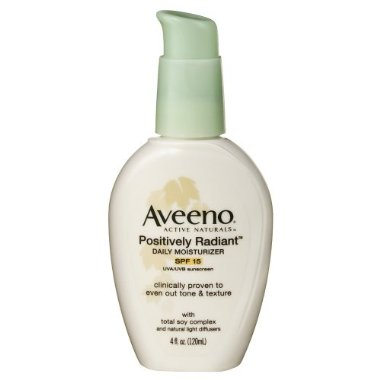 Cheap Trick: Aveeno Positively Radiant Daily Moisturizer Hydrates, Even During Winter