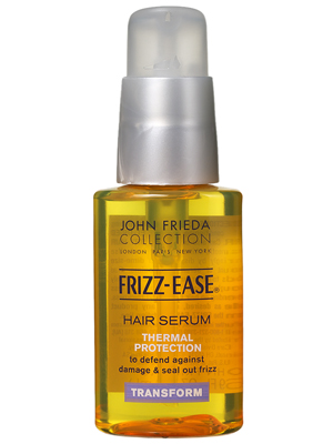 Cheap Trick: John Frieda Frizz Ease Hair Serum Thermal Protection Smooths and Protects