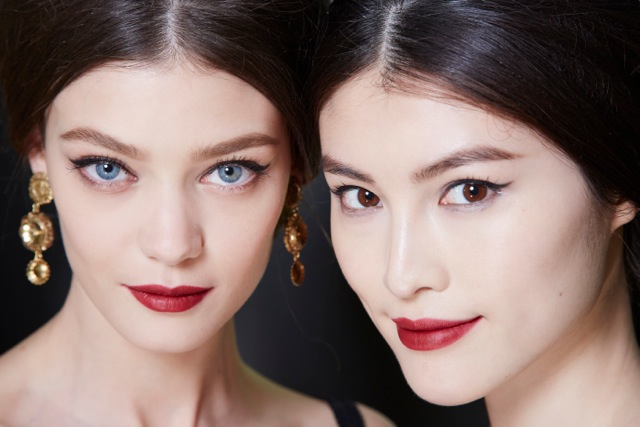 Dolce and Gabbana Fall 2013 Beauty Look