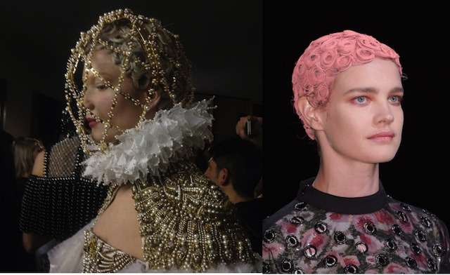 What Are The Odds Givenchy and Alexander McQueen Both Show Off Set PinCurls