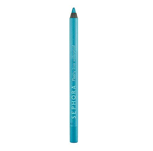 Sephora Flashy Waterproof Eyeliner in Teal