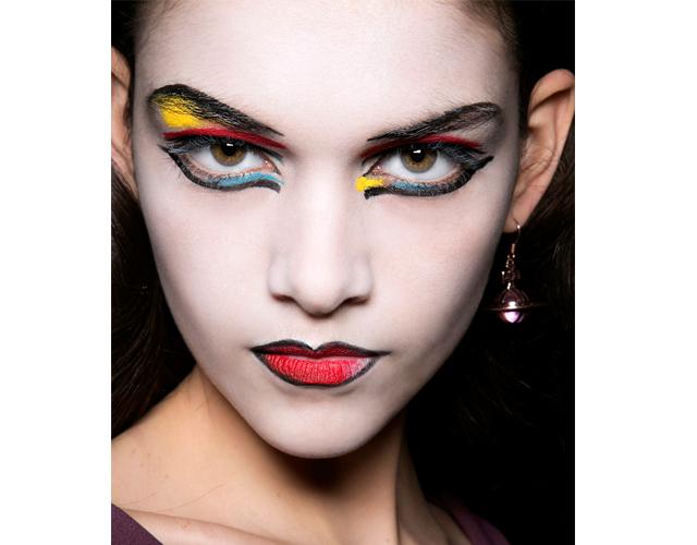 Vivienne Westwood Fall/Winter 2013 Makeup