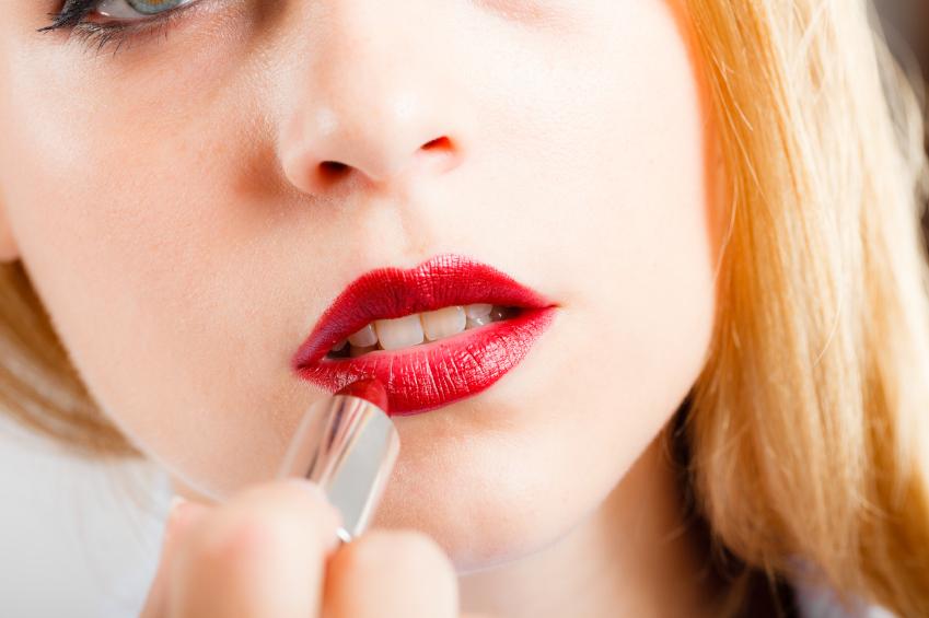 Lipstick containing lead
