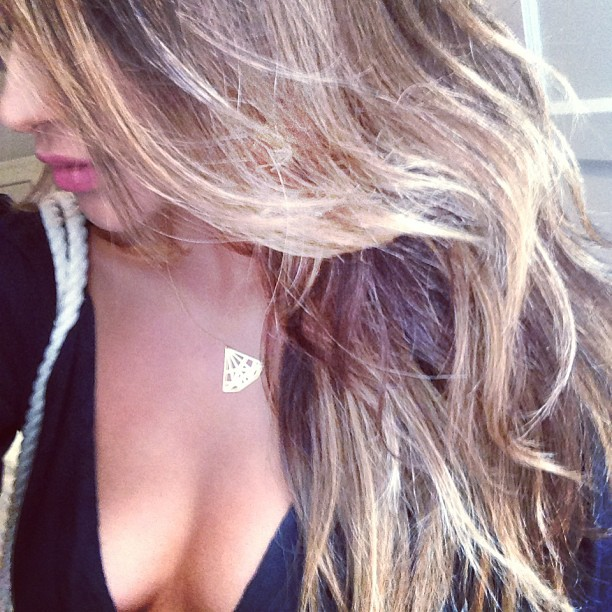 shay mitchell ombre blonde hair