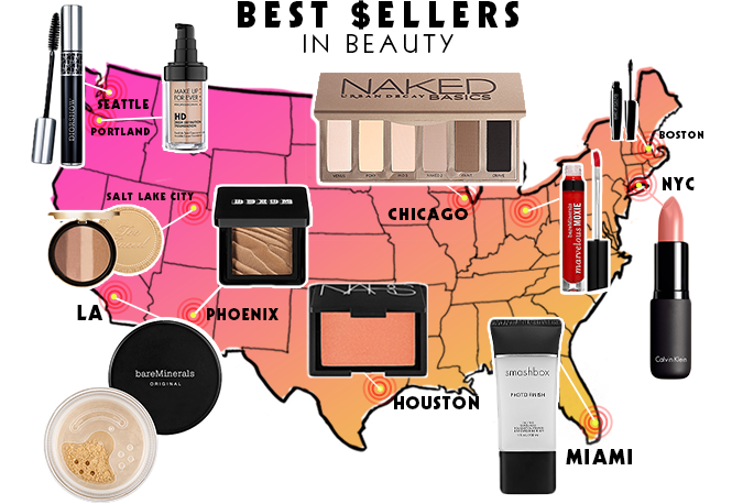 best-selling beauty products