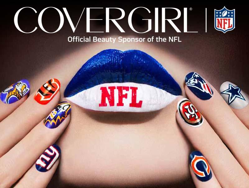 covergirl nfl