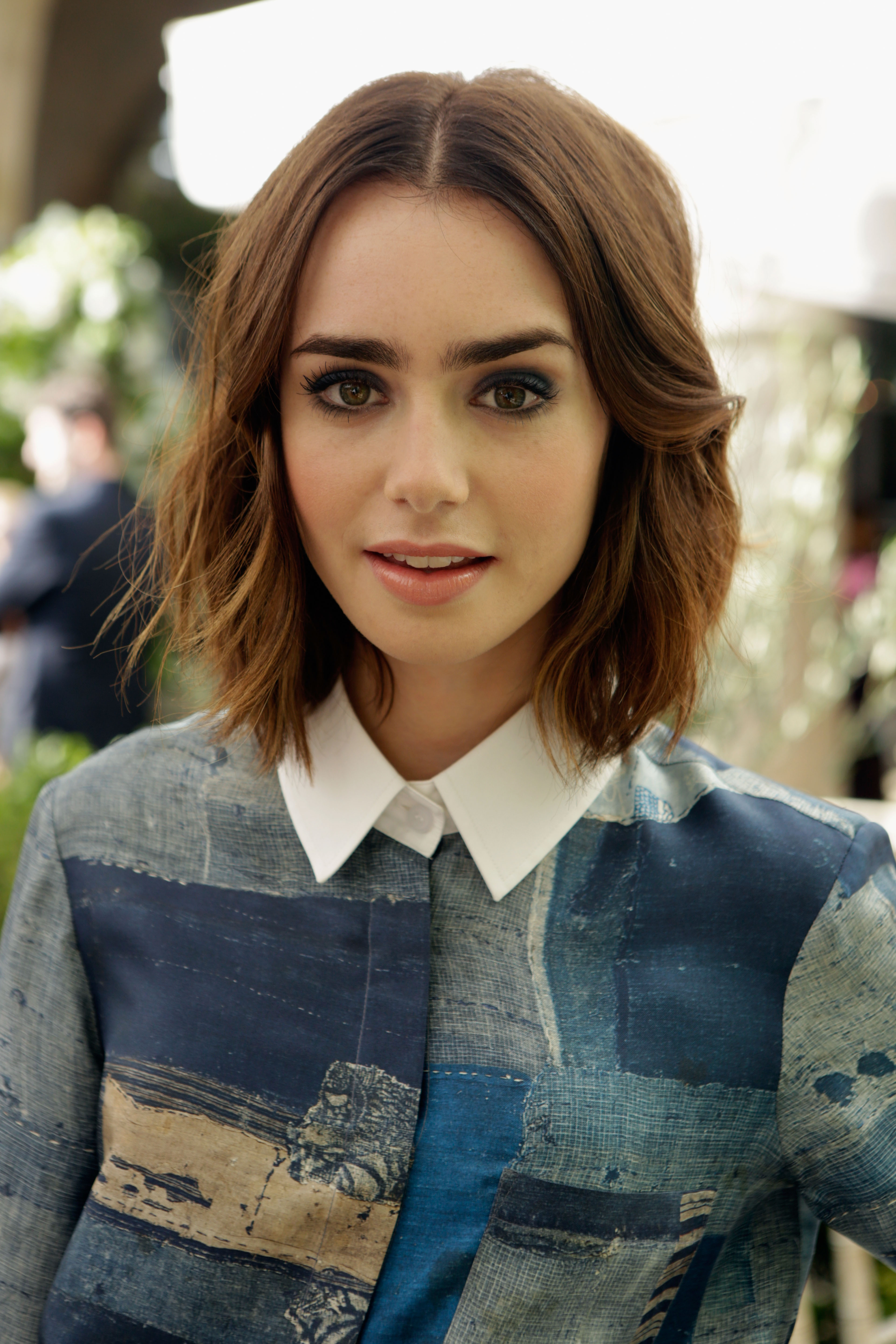 Lily Collins' Hairstylist: I Know She Can Pull OffAnything advise
