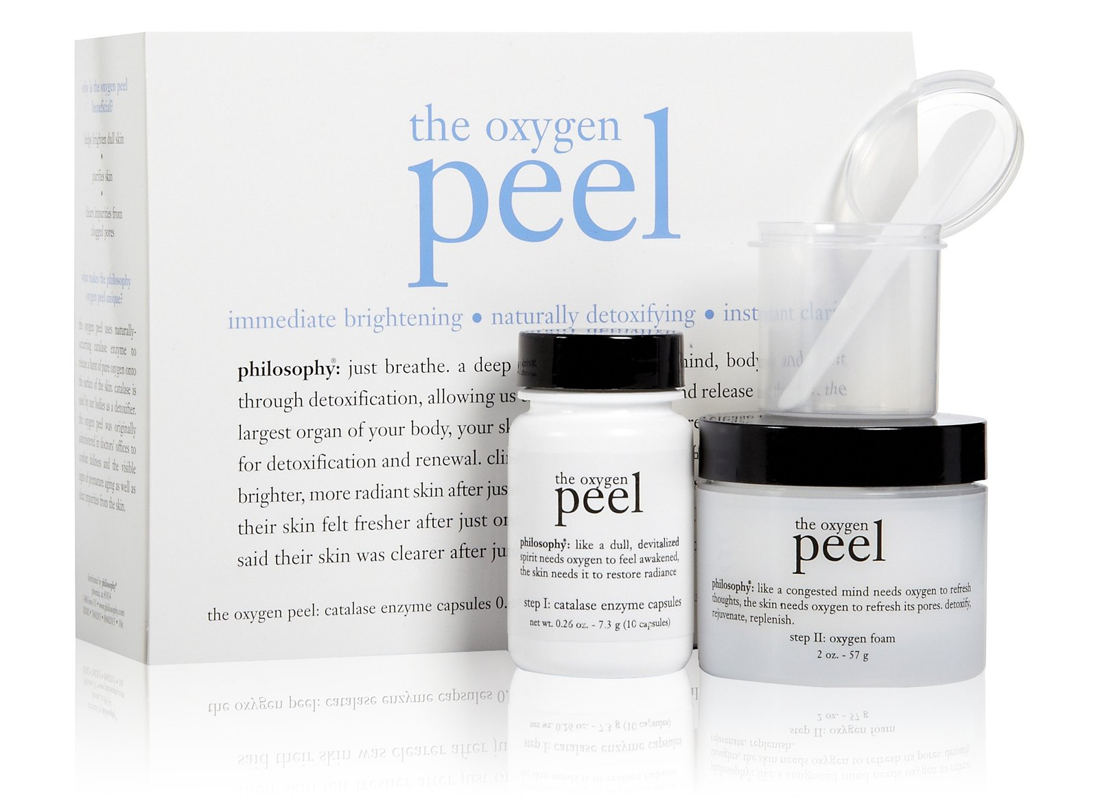 the oxygen peel philosophy
