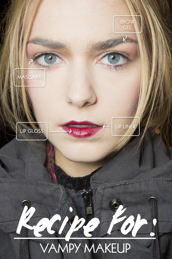 vampy makeup