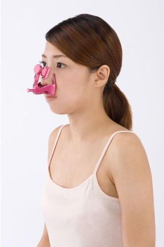 at home nose job