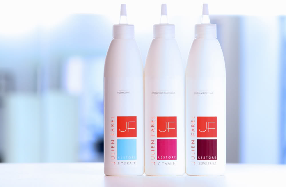 julien farel restore hair care