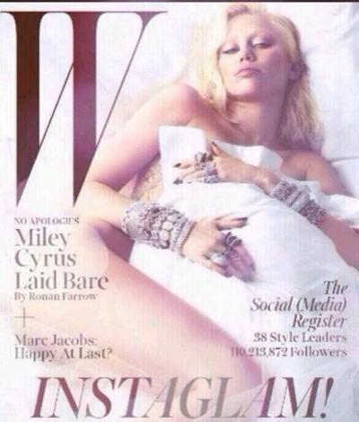 Miley Cyrus W