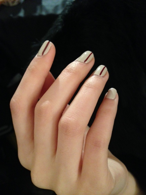 Prabal Gurung Fall 2014 Nails