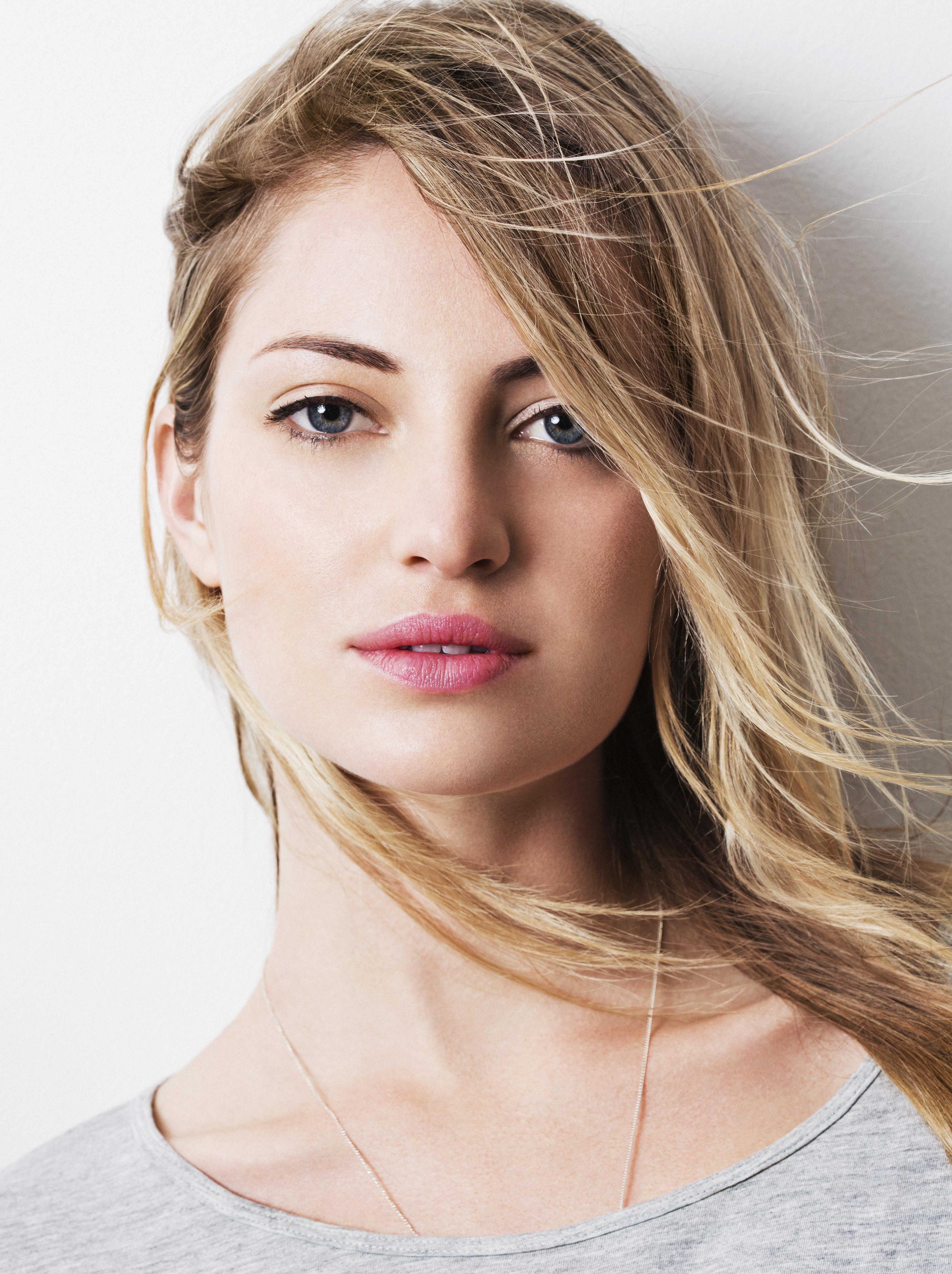 natural blonde woman