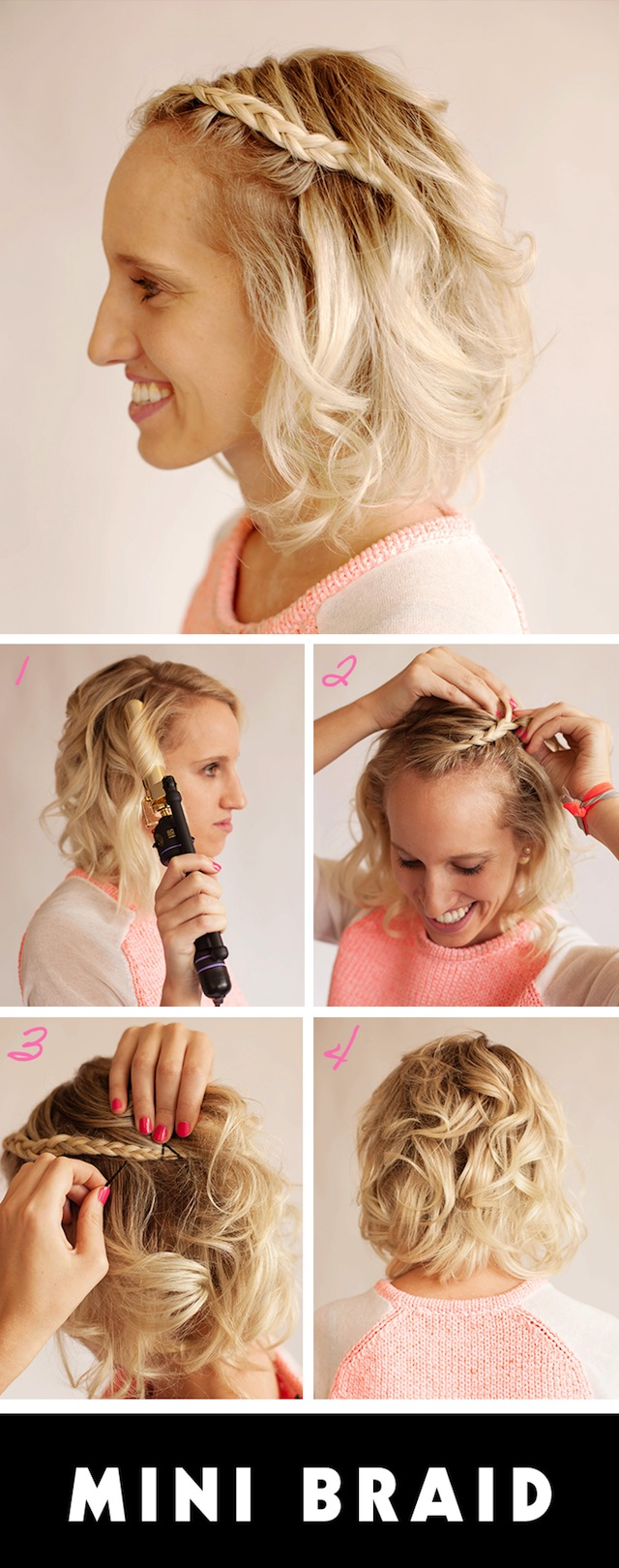 short braid hairstyle
