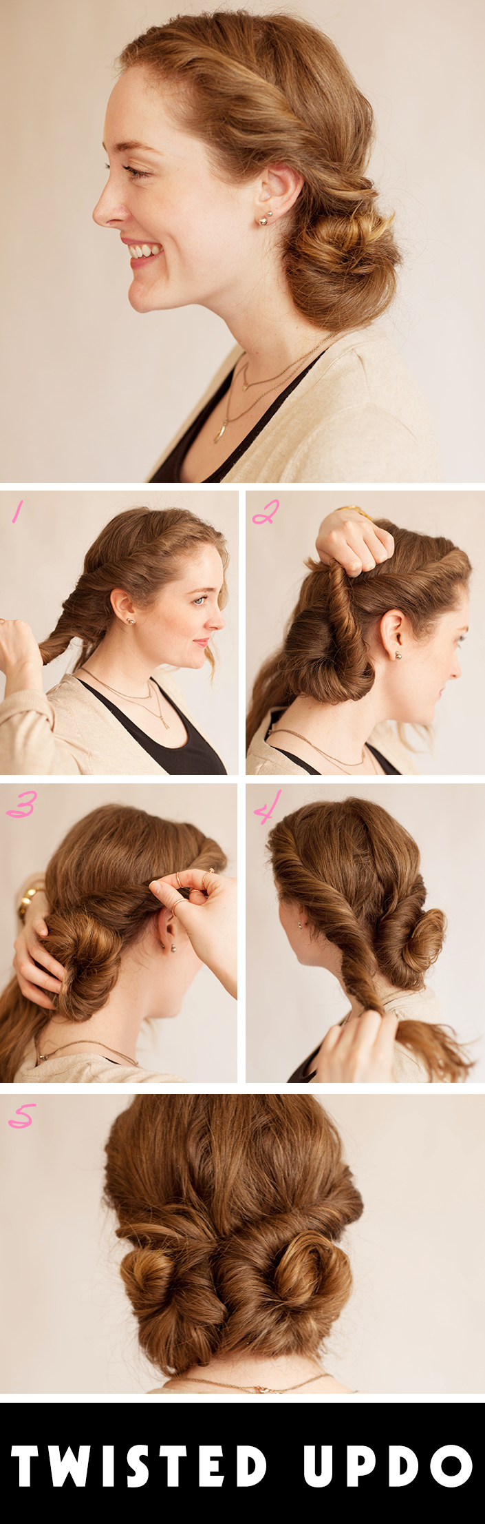 Easy Prom Updos A Twisted Style That S Perfect Stylecaster