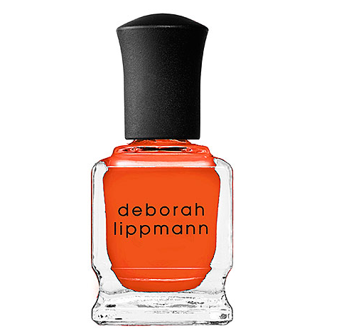 Deborah Lippmann Orange Polish