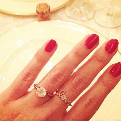 Lauren Conrad engagement
