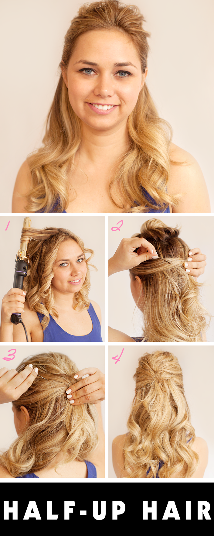 Prom Hairstyles Half Up Half Down | StyleCaster