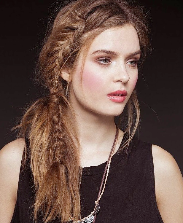 cool fishtail braid