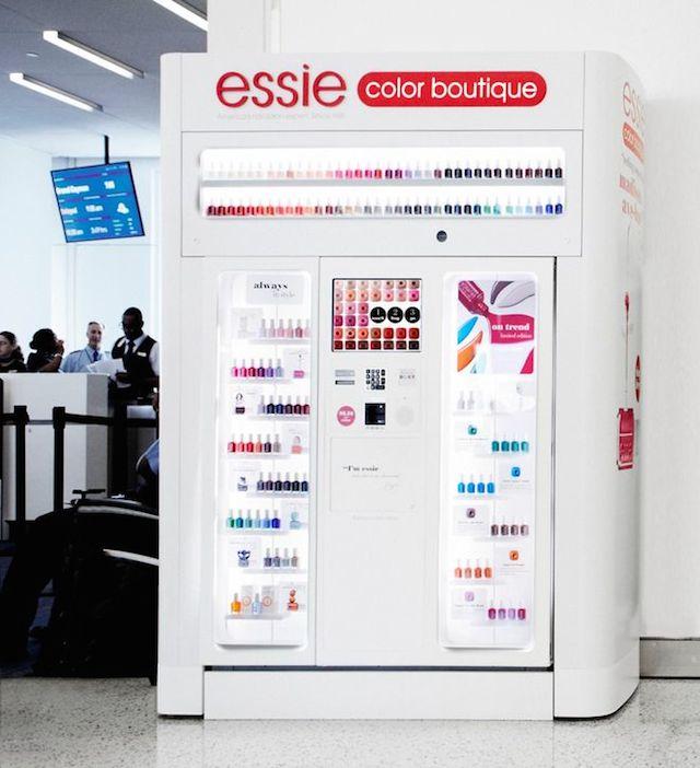 Essie vending machine