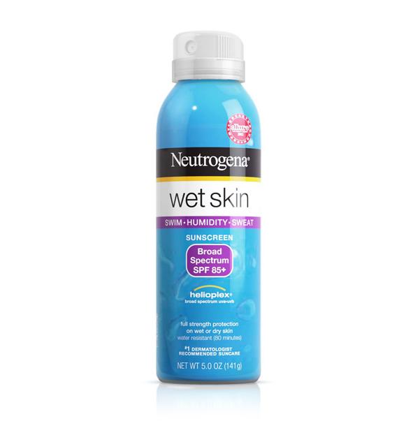 neutrogena wet skin sunscreen