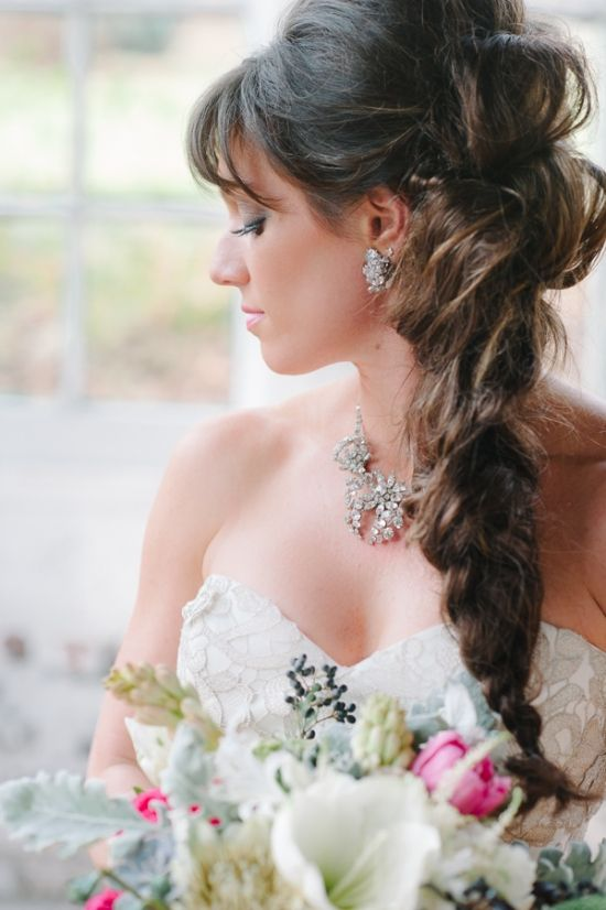 10 Wedding Updos From Pinterest Stylecaster