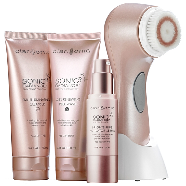 sonic radiance brightening solution by clarisonic
