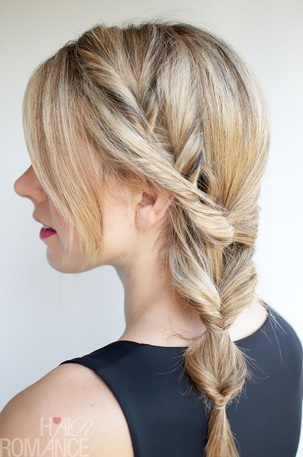 Quick And Easy Side Braid Hairstyles From Pinterest Stylecaster