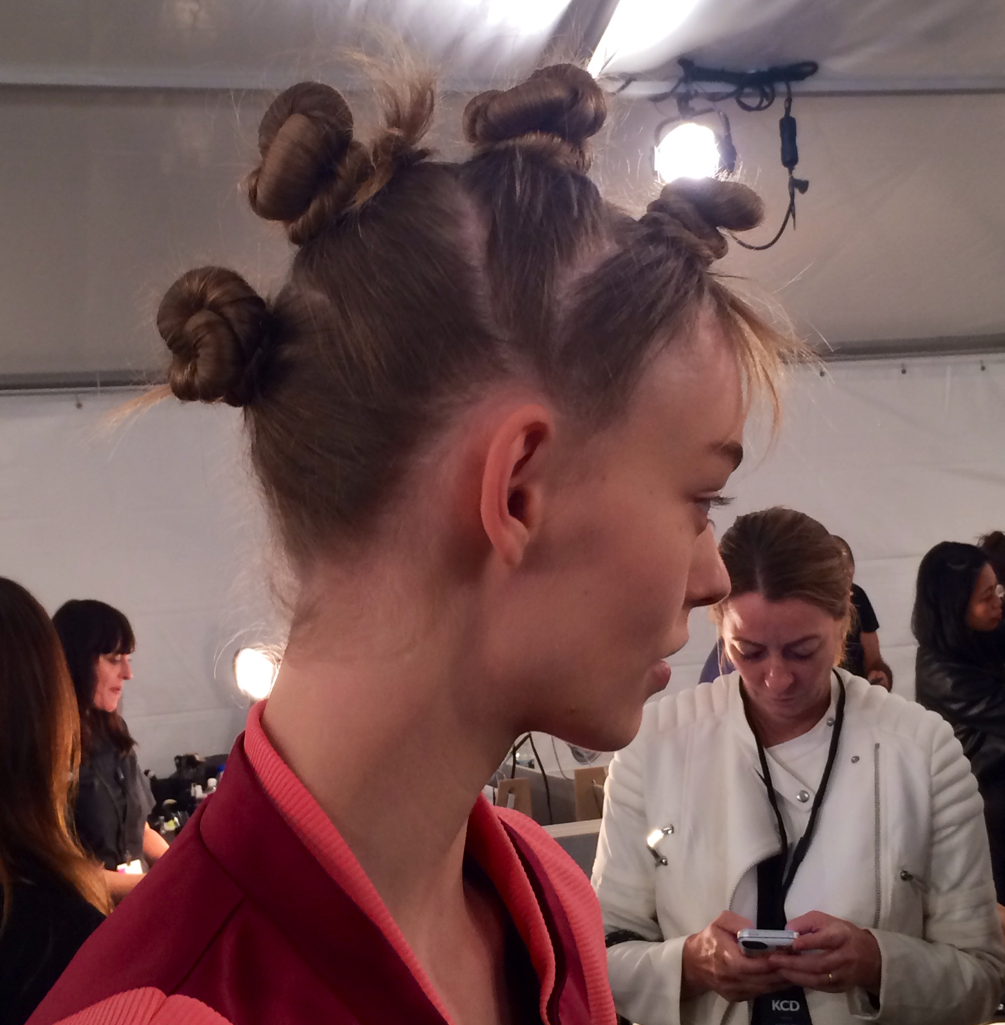 Marc by Marc Jacobs Shows Punk, Rave Inspired Hair For Spring